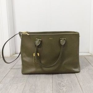 Ralph Lauren Green Handbag